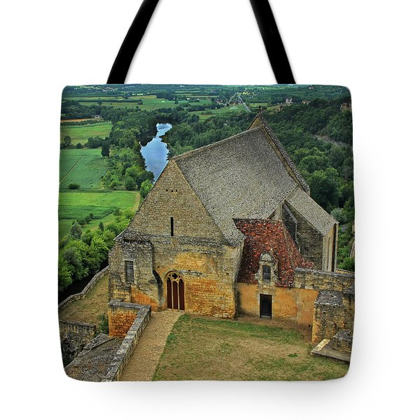 Overlooking The French Countryside Tote Bag by Dave Mills