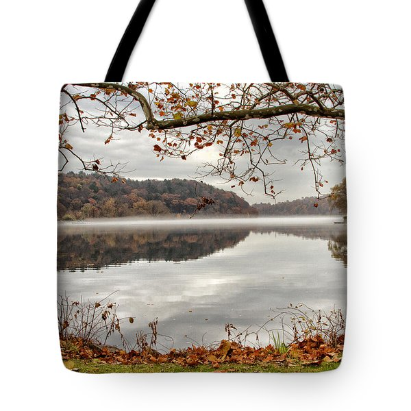 Overlooking The River Tote Bag by Karol Livote