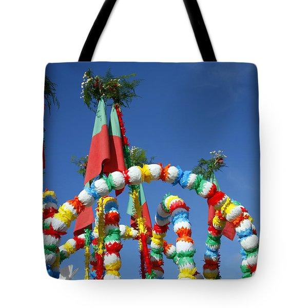 Oxen Cart Decorations Tote Bag by Gaspar Avila