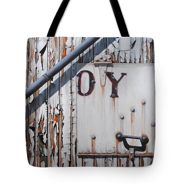 ...oy Tote Bag