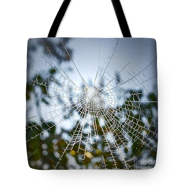 Pablo's Web Tote Bag by Gwyn Newcombe