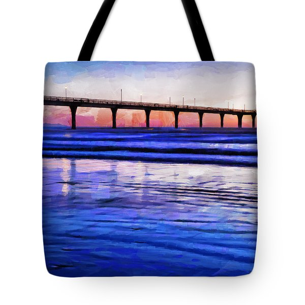 Pacific Blue  Tote Bag by Steve Taylor