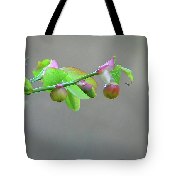 Pacific Huckleberry Tote Bag by Pamela Patch