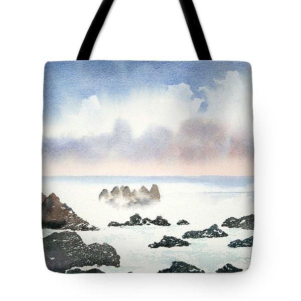 Pacific Ocean Tote Bag