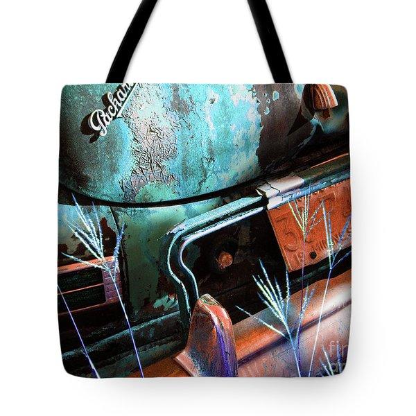Packard On Ice Tote Bag by Joe Jake Pratt