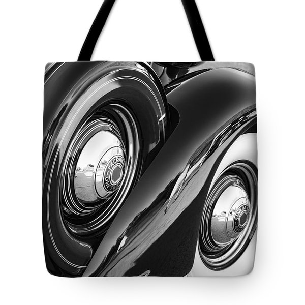 Tote Bag featuring the photograph Packard One Twenty by Gordon Dean II