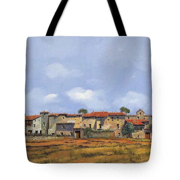 Paesaggio Aperto Tote Bag by Guido Borelli