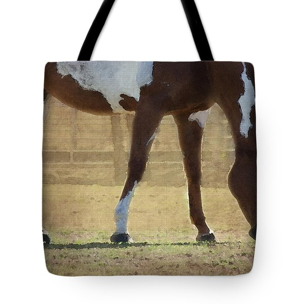 Paint Horse Tote Bag by Betty LaRue