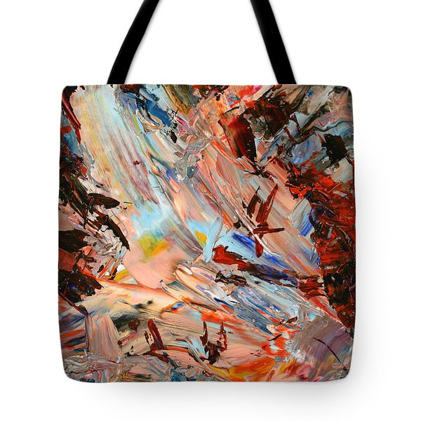 Paint Number 36 Tote Bag by James W Johnson