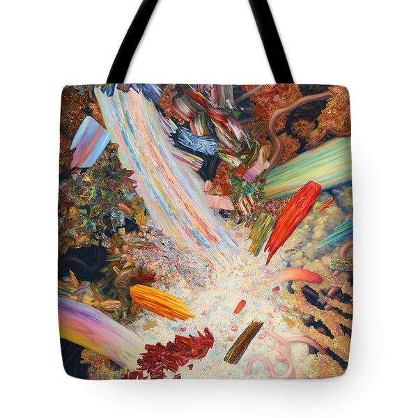 Paint Number 39 Tote Bag by James W Johnson