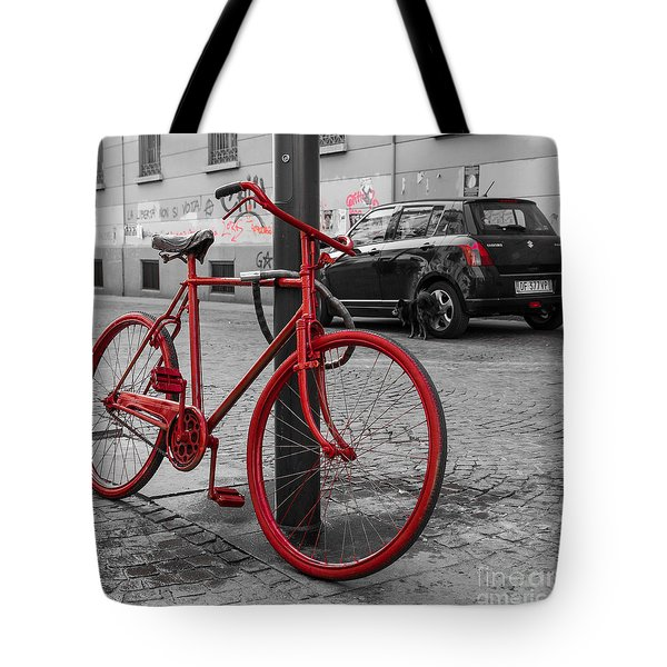 Paint The Town Red Tote Bag