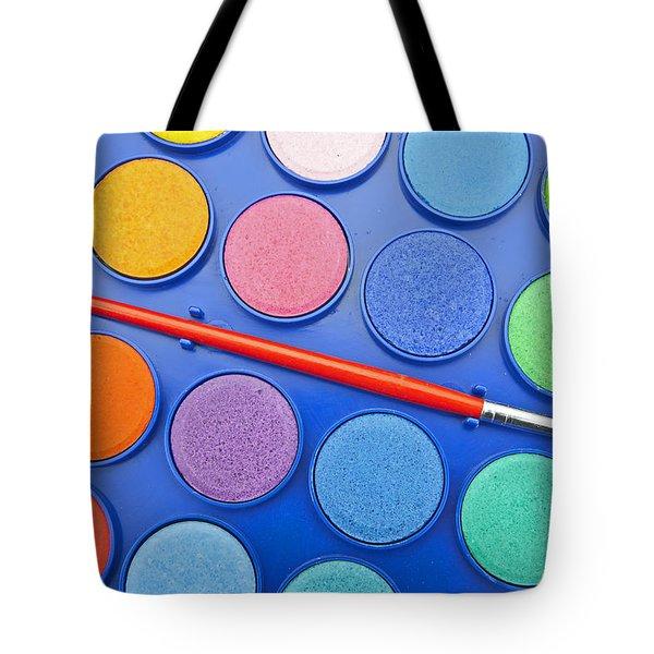 Paintbox Tote Bag by Joana Kruse