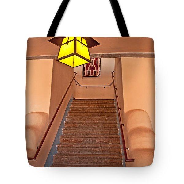 Painted Desert Inn Interior Tote Bag by Bob and Nancy Kendrick