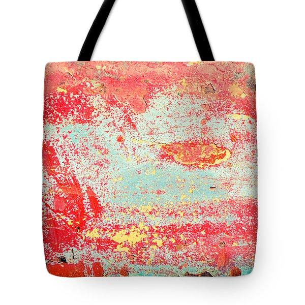 Painted Metal Tote Bag by Tom Gowanlock