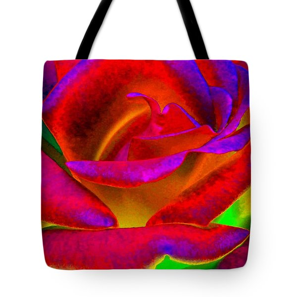 Painted Rose 1 Tote Bag
