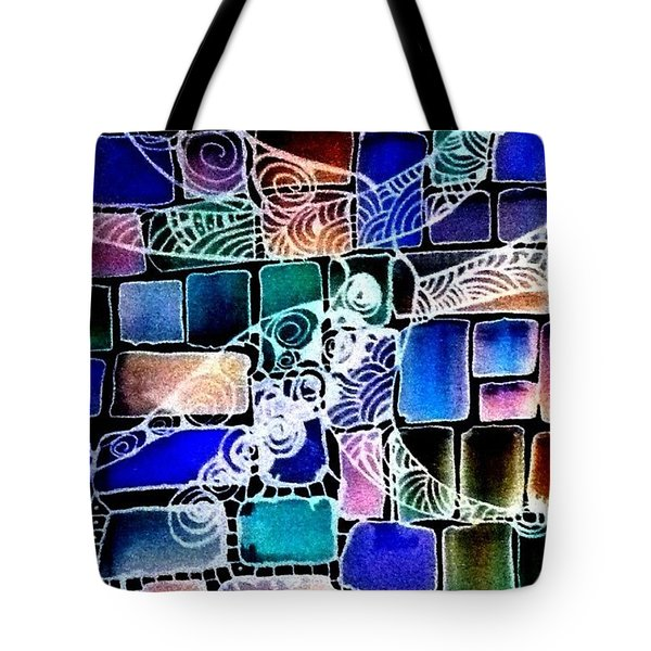 Painting The Old Bricks With Happiness Tote Bag