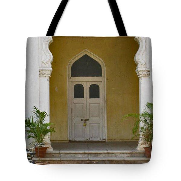 Tote Bag featuring the photograph Palace Door by David Pantuso