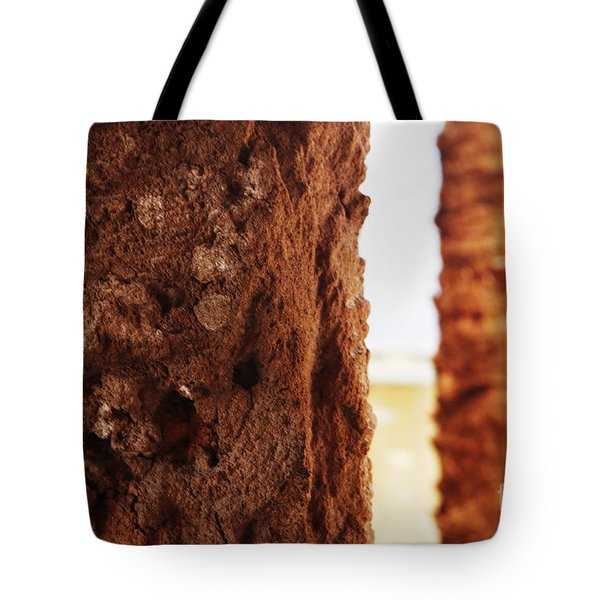 Palm And Wall 2 Tote Bag