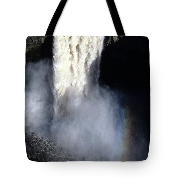 Tote Bag featuring the photograph Palouse Falls by Sharon Elliott
