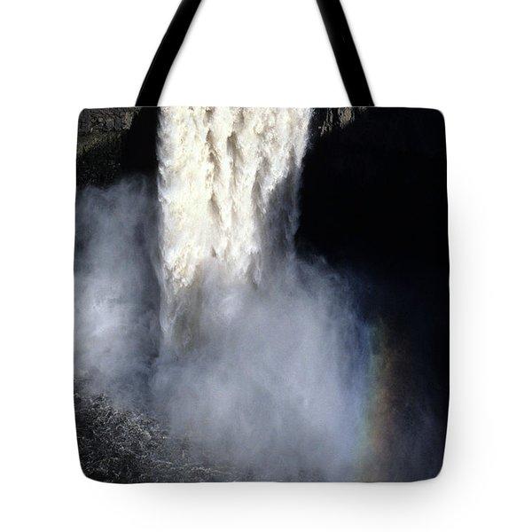 Palouse Falls Tote Bag by Sharon Elliott