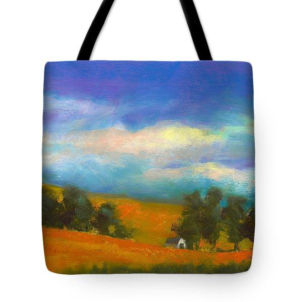 Palouse Wheat Fields Tote Bag by David Patterson