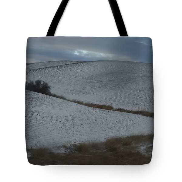 Palouse Winter 1 Tote Bag by Mary McInnis