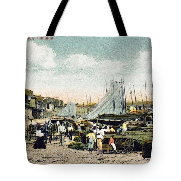 Panama City: Beach Market Tote Bag by Granger