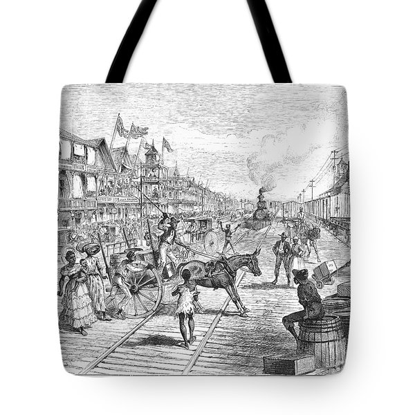 Panama Railway, 1888 Tote Bag by Granger