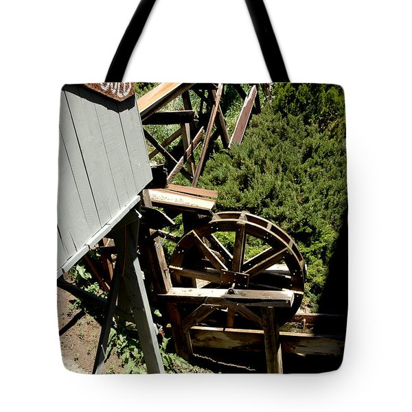 Panning For Gold In Virginia City Nevada Tote Bag by LeeAnn McLaneGoetz McLaneGoetzStudioLLCcom