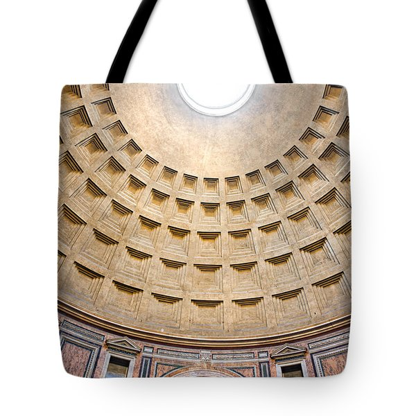 Tote Bag featuring the photograph Pantheon  by Luciano Mortula