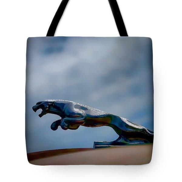 Panther Hoodie Tote Bag by Douglas Pittman
