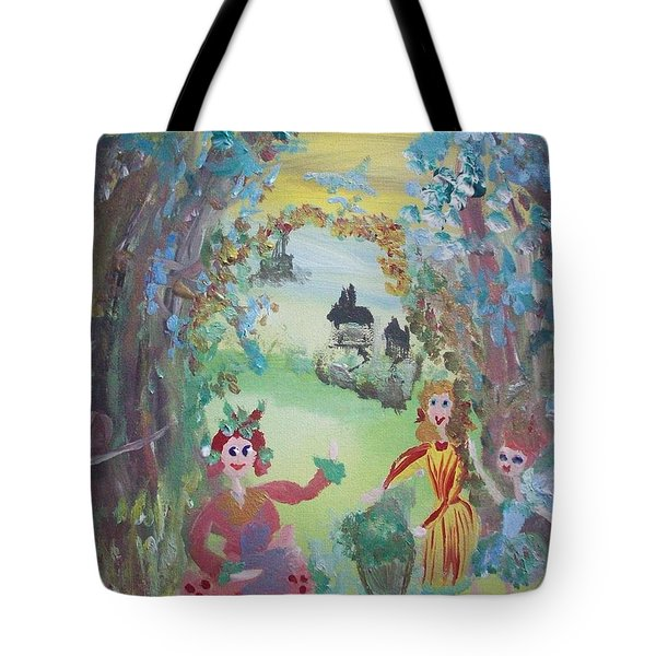 Panto Time Tote Bag by Judith Desrosiers