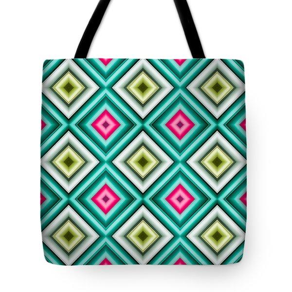Paper Symmetry 2 Tote Bag by Hakon Soreide