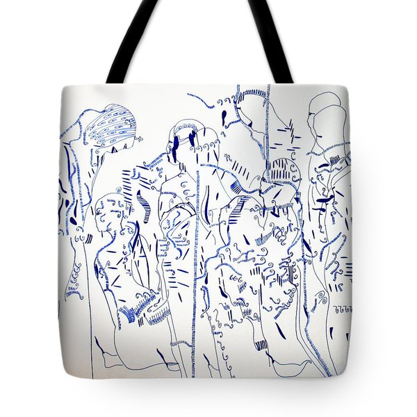 Parable Of The Ten Virgins Tote Bag by Gloria Ssali