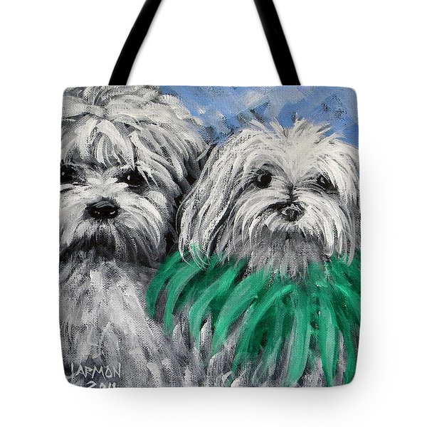 Parade Pups Tote Bag