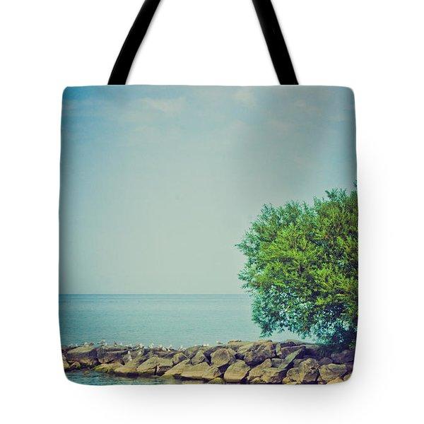 Paradise Cove Tote Bag by Sara Frank
