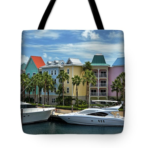 Paradise Island Style Tote Bag by Steven Sparks