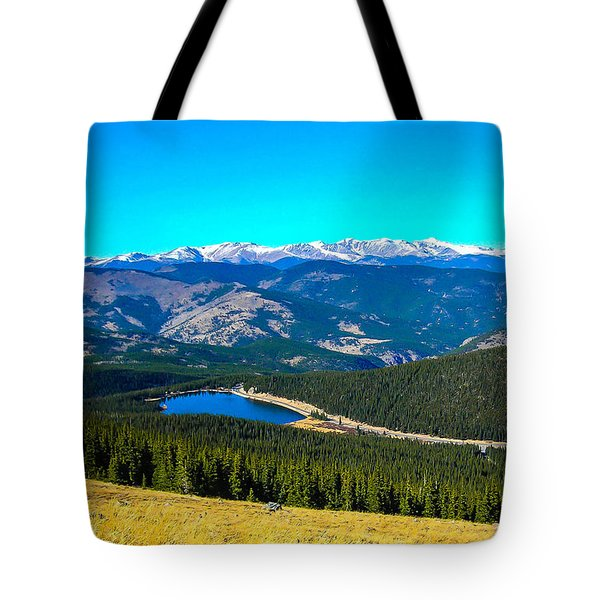 Tote Bag featuring the photograph Paradise by Shannon Harrington