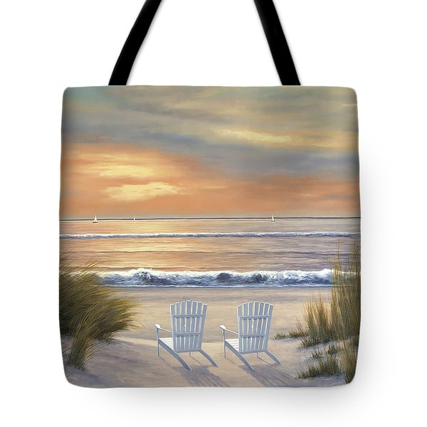 Paradise Sunset Tote Bag