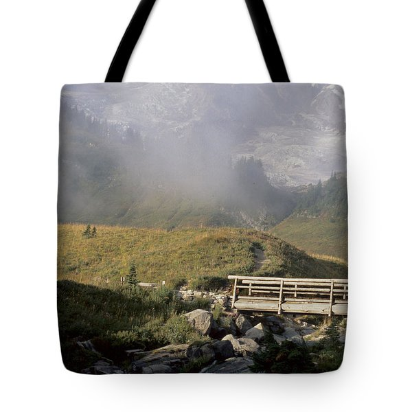 Tote Bag featuring the photograph Paradise Valley by Sharon Elliott