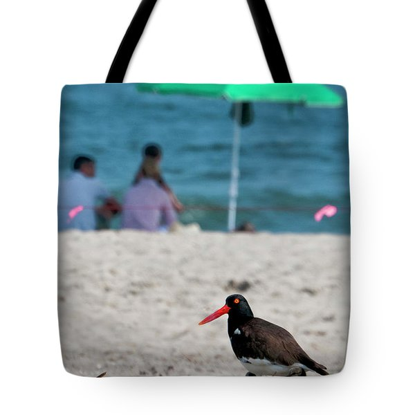 Parenting On A Beach Tote Bag