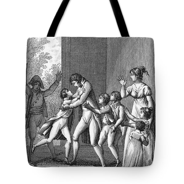 Parents And Children, 1800 Tote Bag by Granger