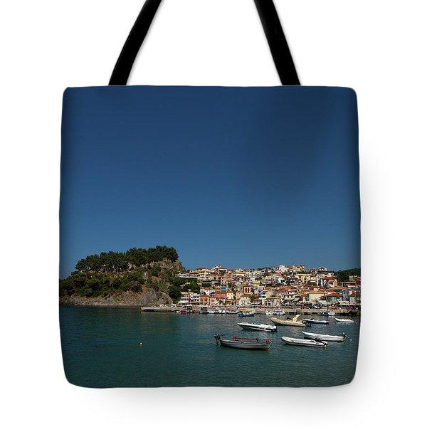 Parga  Tote Bag