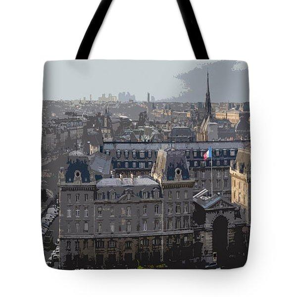 Paris 01 Tote Bag by Yuriy  Shevchuk