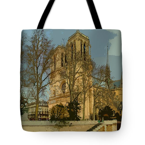 Paris 03 Tote Bag by Yuriy  Shevchuk