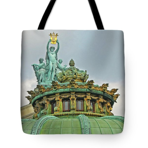 Paris Opera House Roof Tote Bag