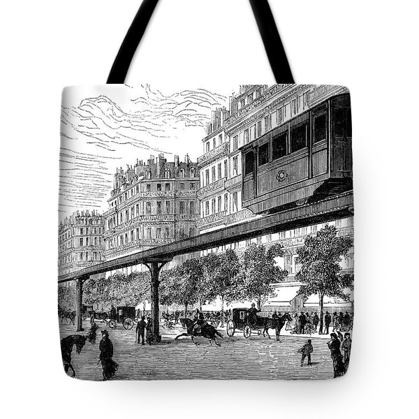 Paris: Tramway, 1880s Tote Bag by Granger