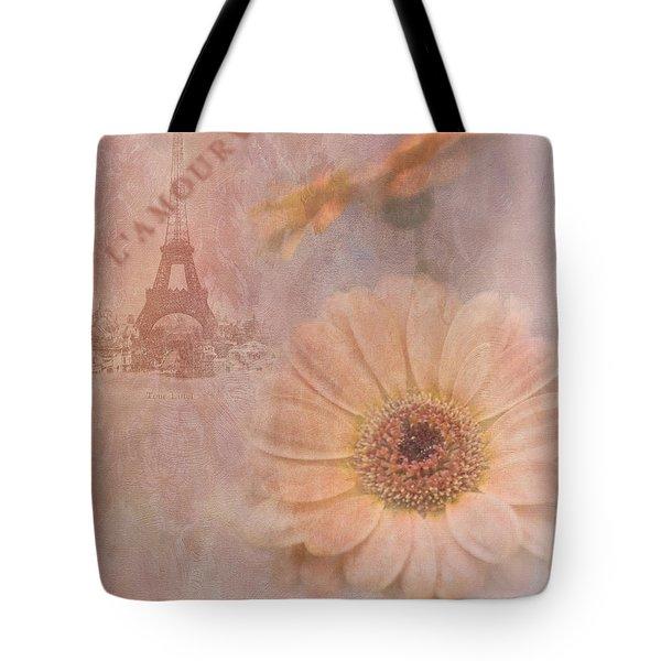 Parisian Oooo La La Tote Bag by Betty LaRue