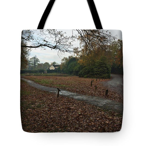 Tote Bag featuring the photograph Park Cottage 2 by Maj Seda