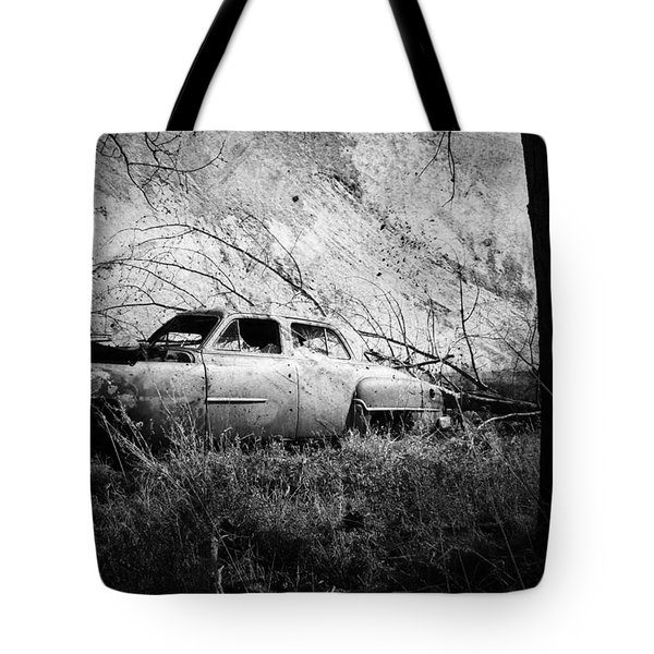Park In The Trees  Tote Bag by Empty Wall